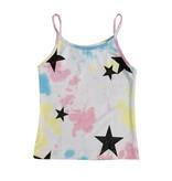Flowers by Zoe Tie Dye Cami with Black Glitter Stars