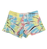 Flowers by Zoe Tie Dye Terry Cloth Shorts
