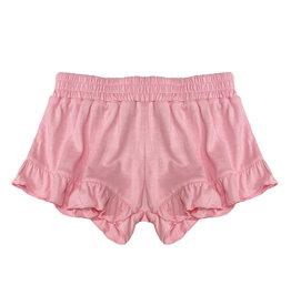 Flowers by Zoe Bubblegum Pink Ruffle Shorts