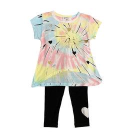Flowers by Zoe Infant Tie Dye Tee & Legging Set