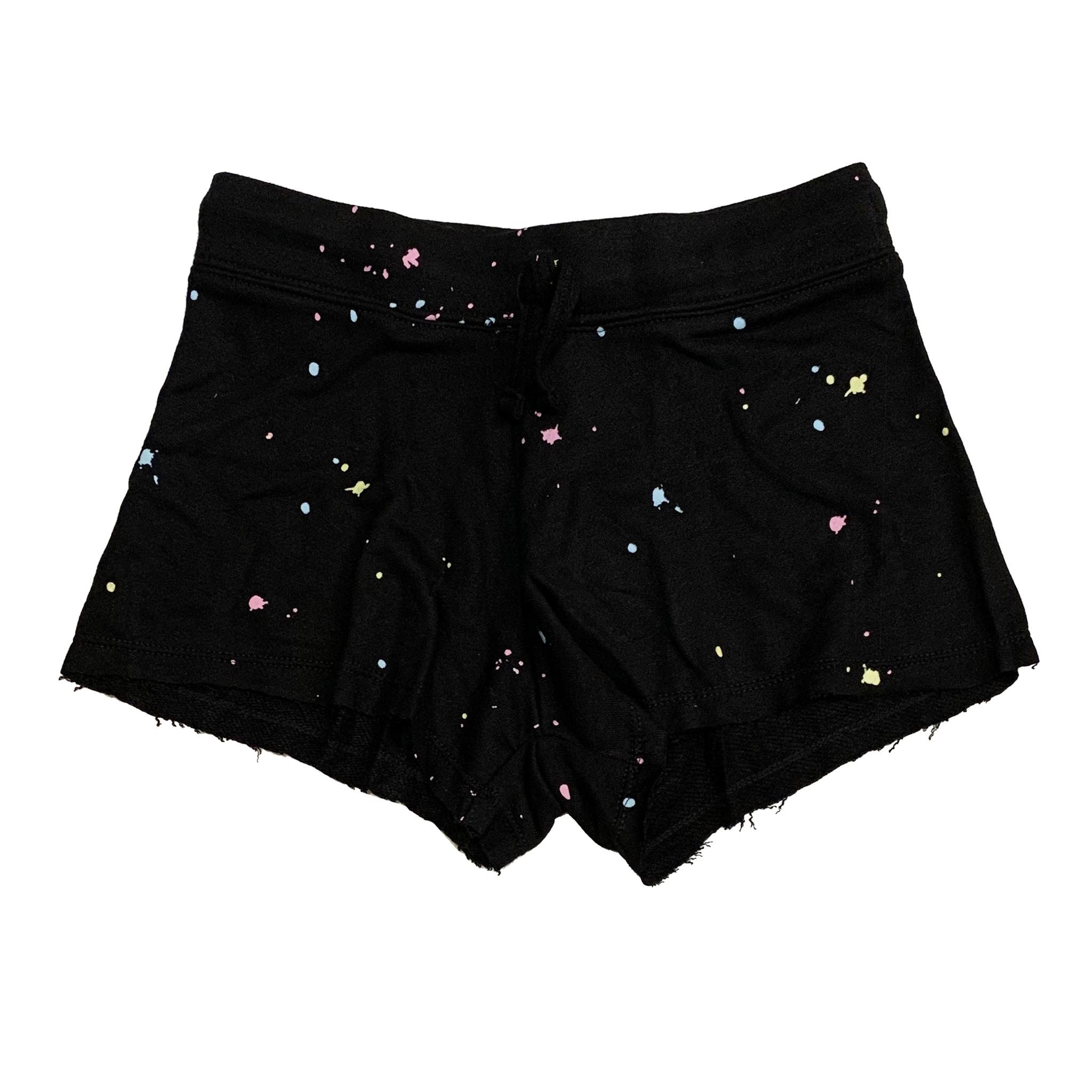 Flowers by Zoe Black Splatter Sweat Shorts