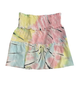 Flowers by Zoe Tie Dye Ruched Skirt