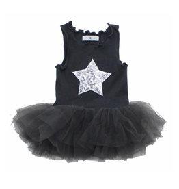 Petit Hailey Charcoal Tutu Tank Dress