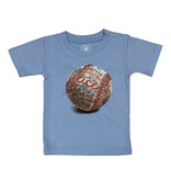 Wes & Willy Blue Infant Baseball Tee