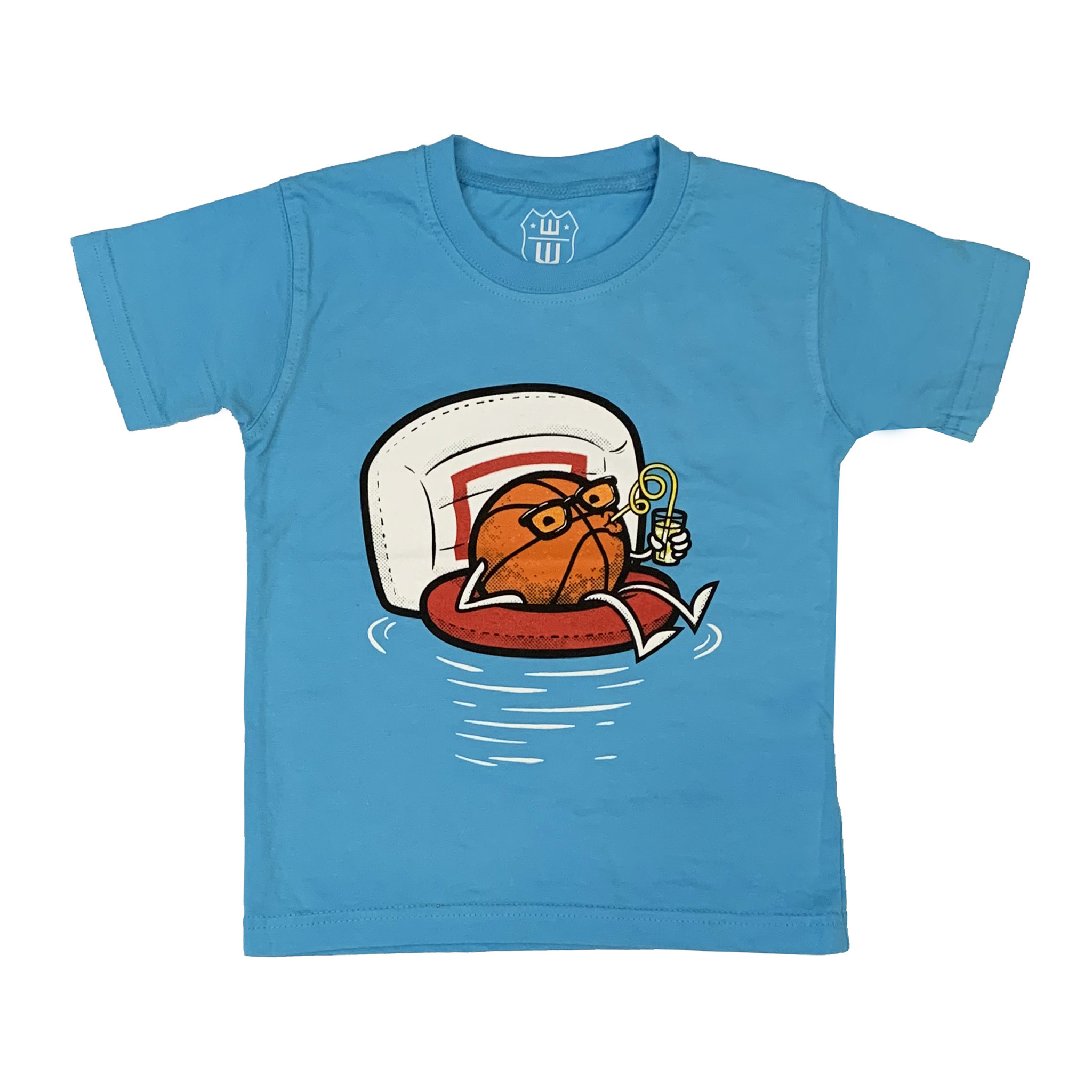 Wes & Willy Infant Summer Basketball Tee