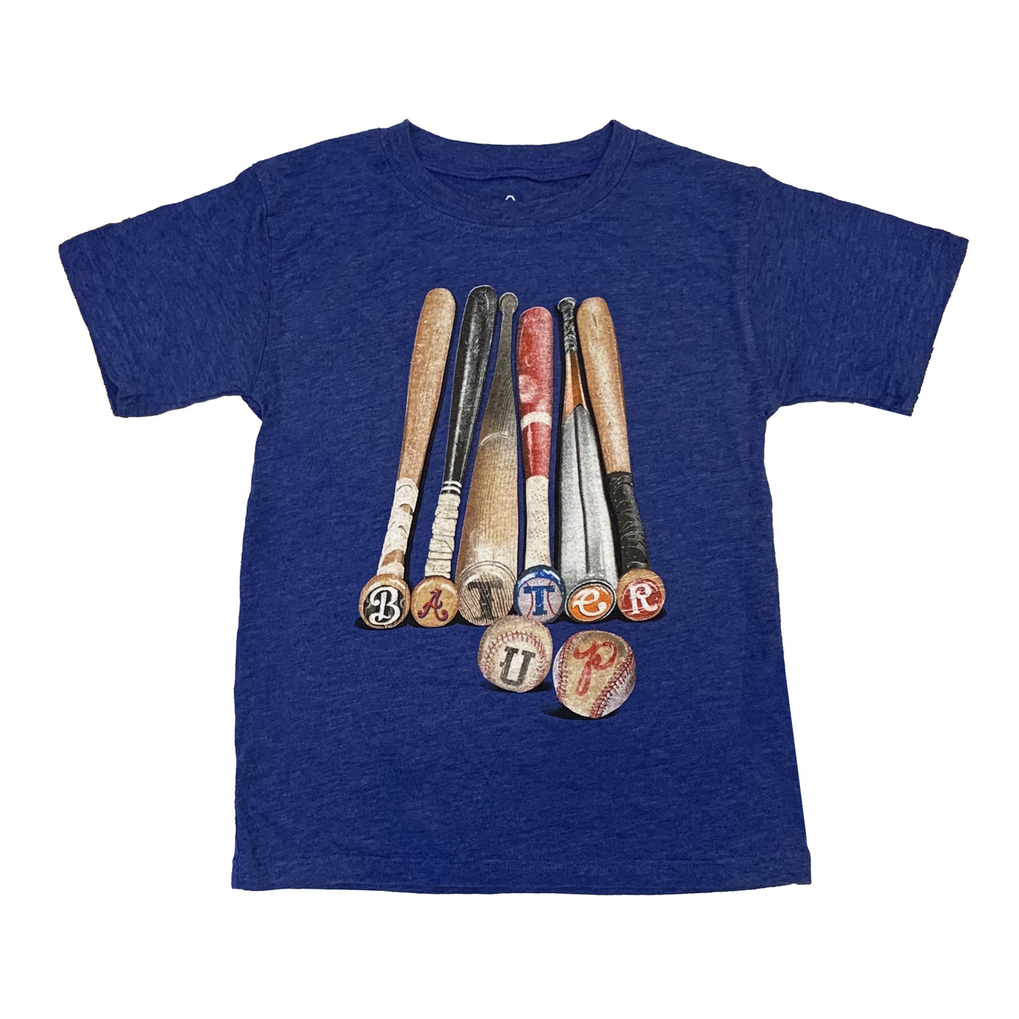 Wes & Willy Blue Batter Up Tee