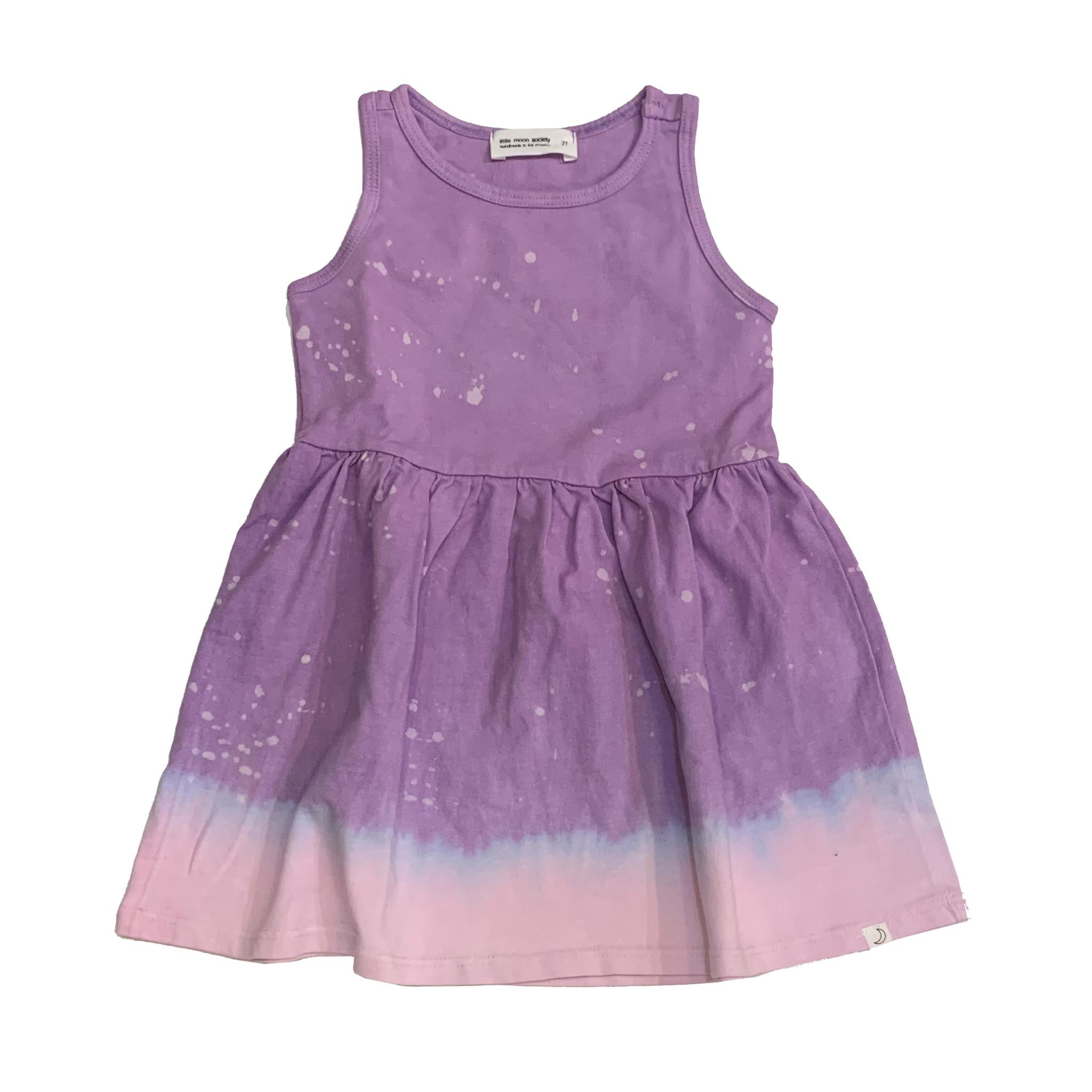 Little Moon Society Lilac Splatter Dress