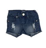 Pinc Medium Wash Ripped Denim Shorts