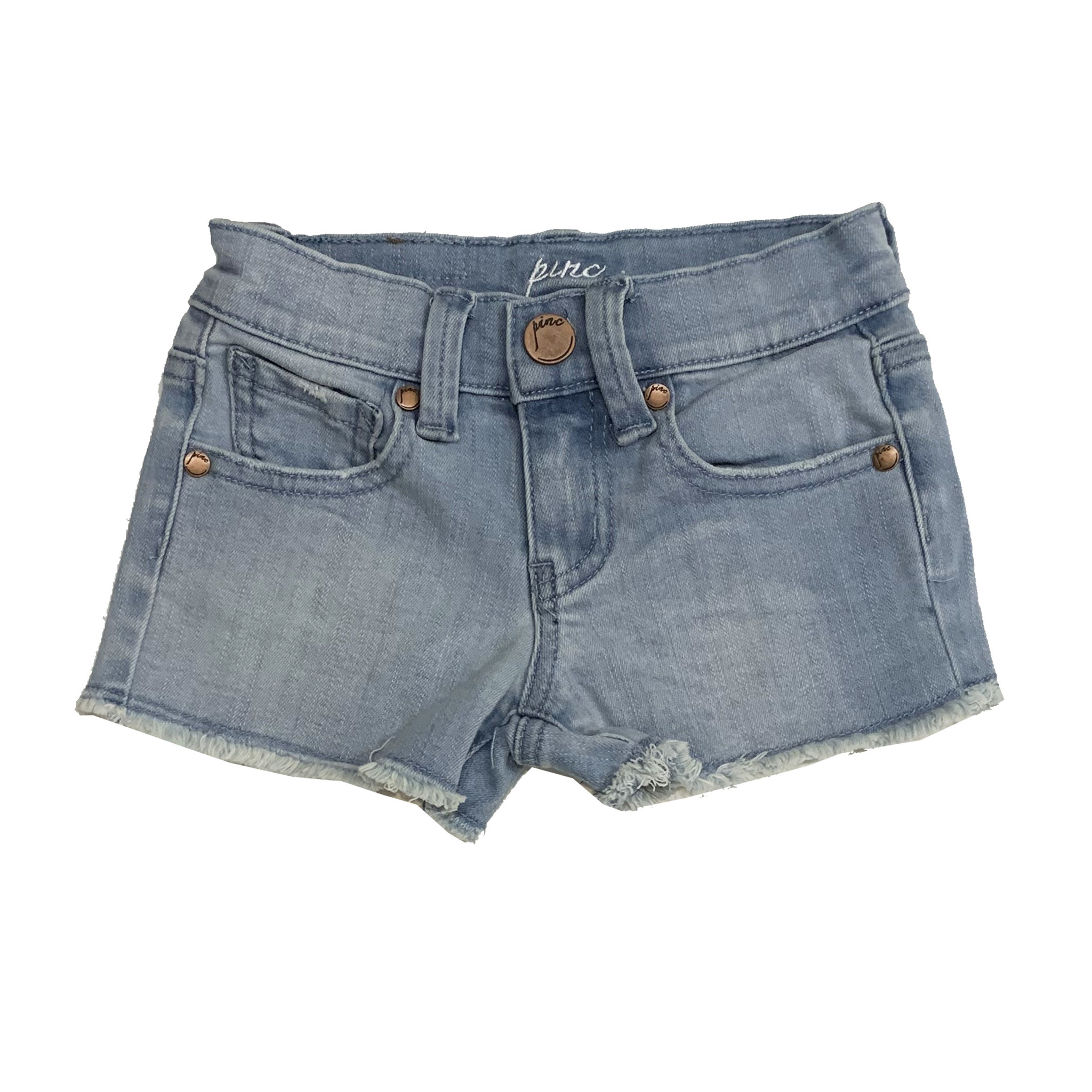 Pinc Light Wash Denim Shorts