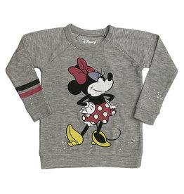 Chaser Minnie Mouse Splatter Sweatshirt