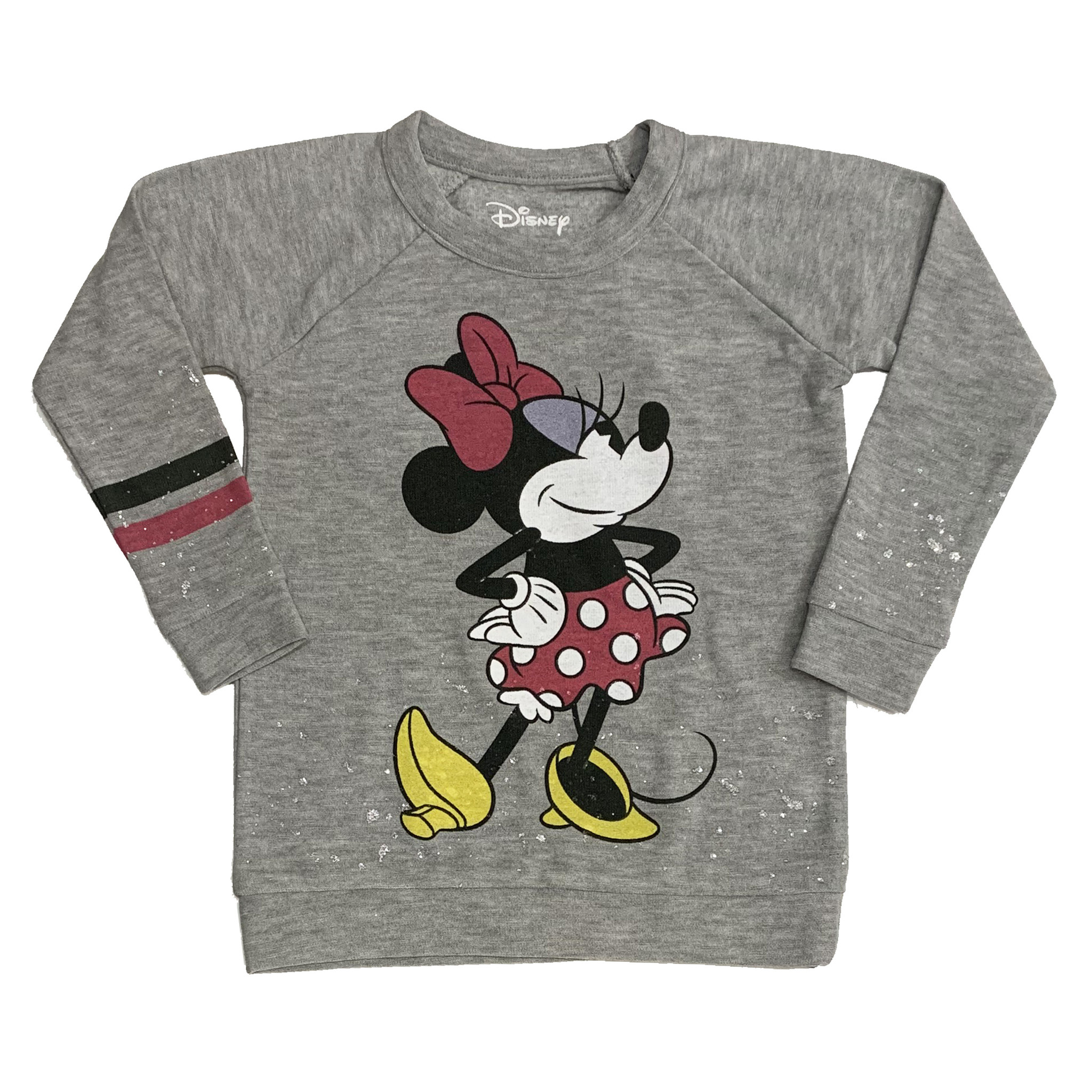 Chaser Minnie Mouse Splatter Sweatshirt