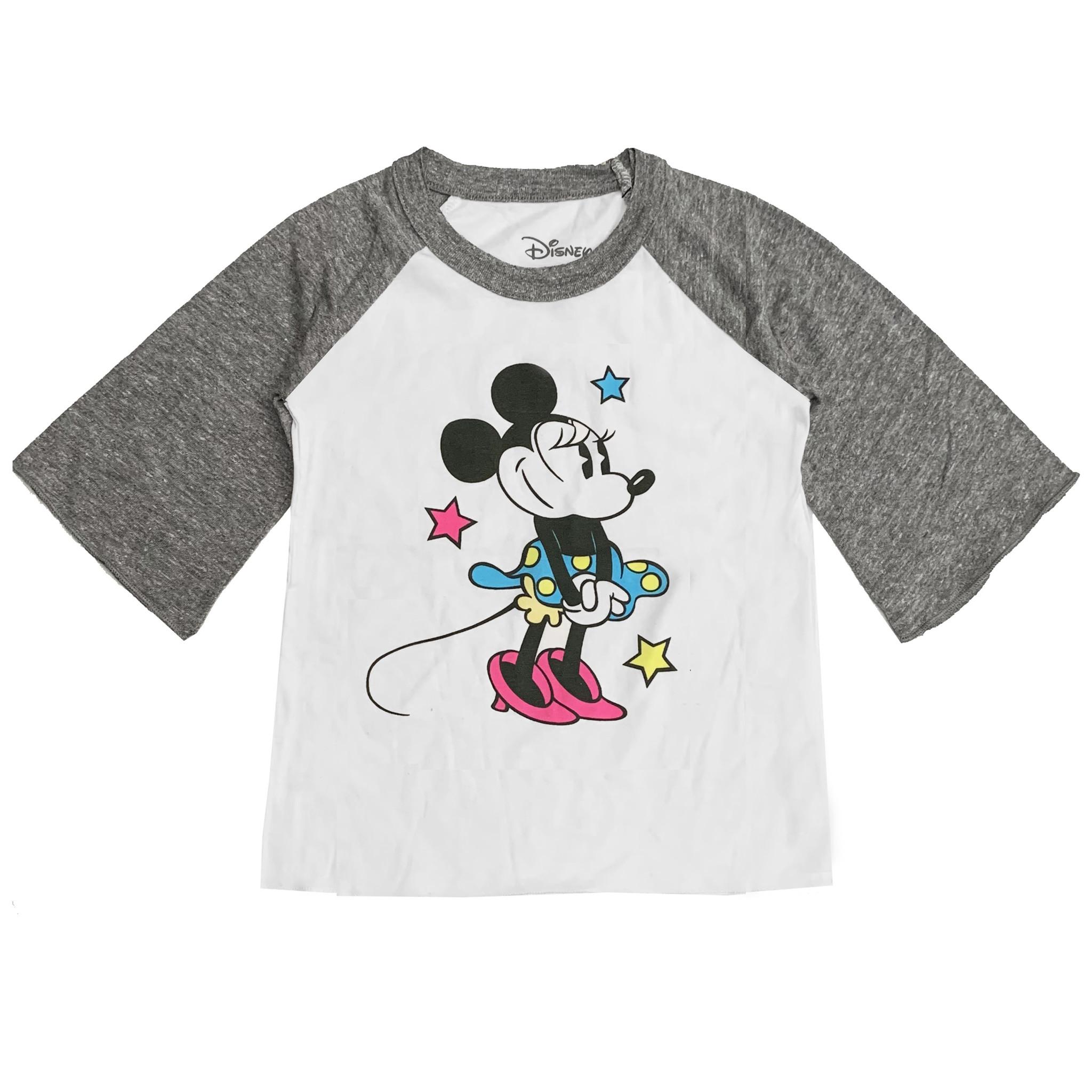Chaser Minnie Mouse Flounce Sleeve Raglan