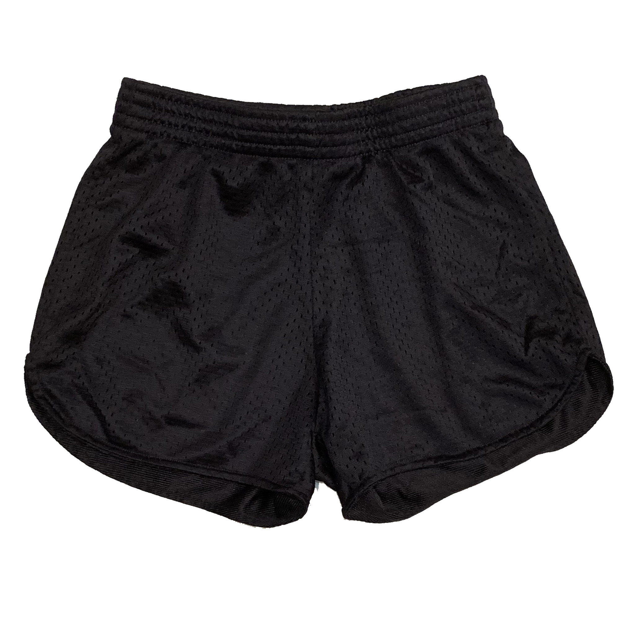 Firehouse Black Mesh Shorts