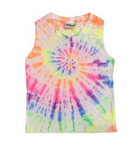 Firehouse Bright Tie Dye Swirl Tank