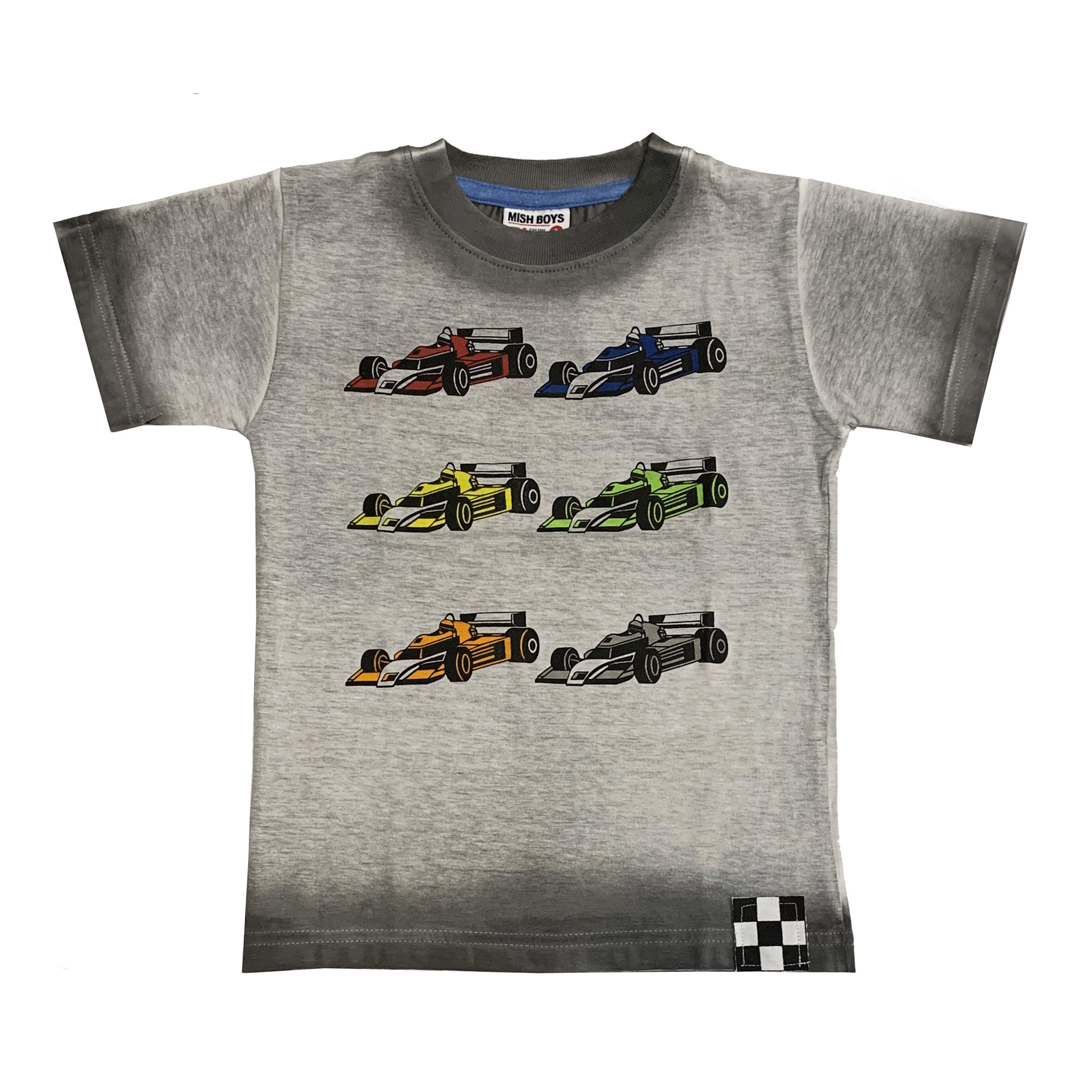 Mish Race Cars Ombre Tee