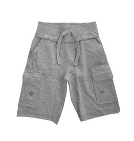 Mish Solid Grey Cargo Short