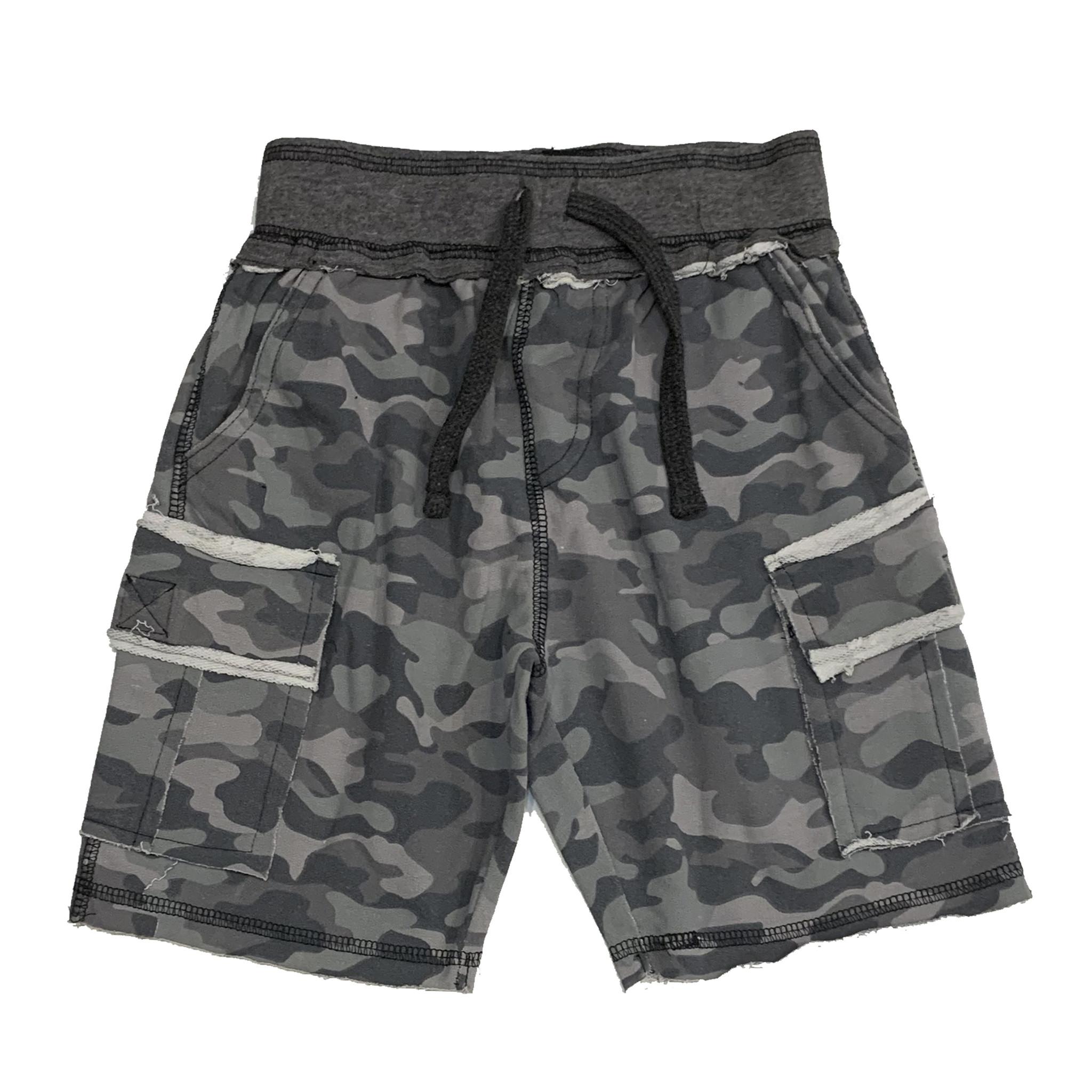 Mish Black Camo Infant Shorts