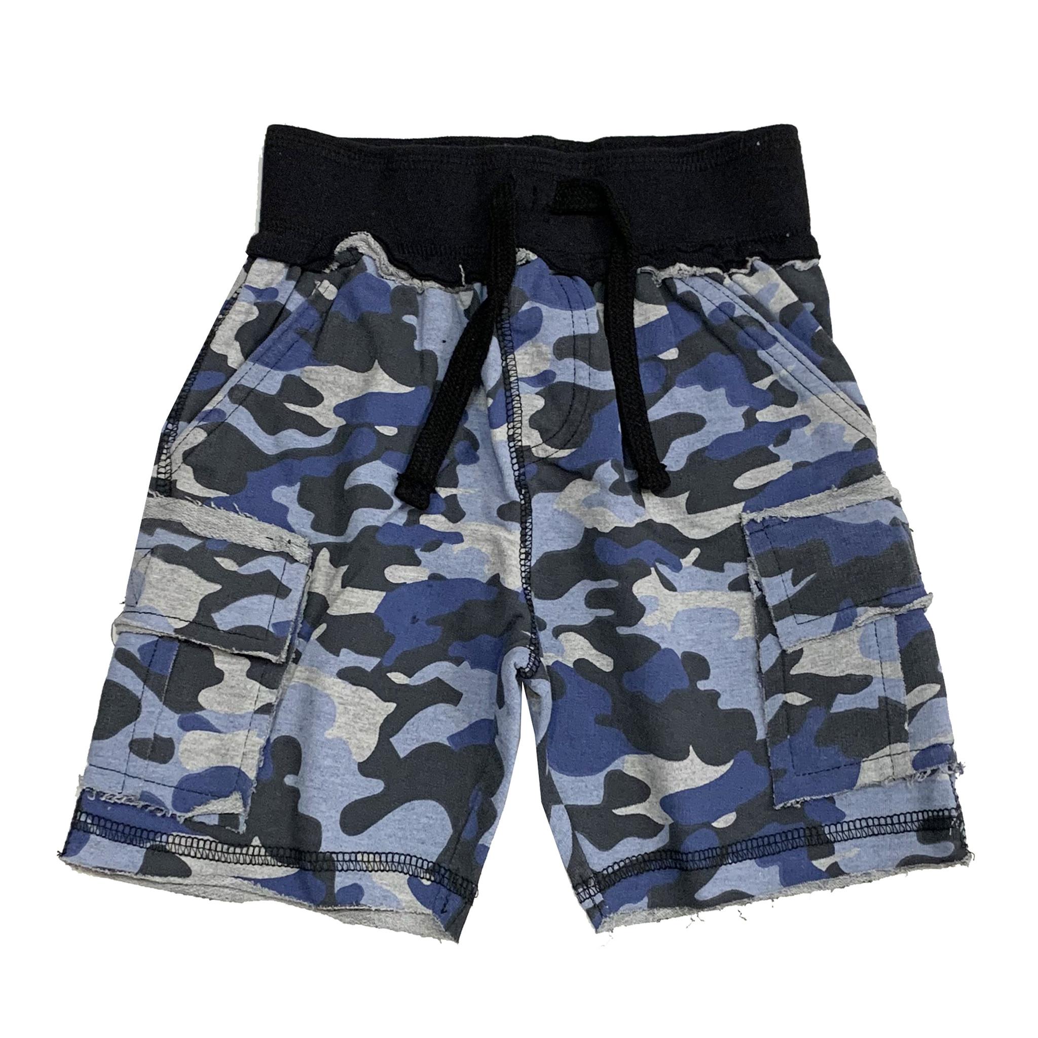 Mish Navy Camo Short