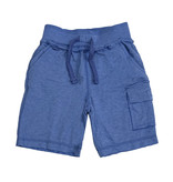 Mish Distressed Cobalt Cargo Shorts