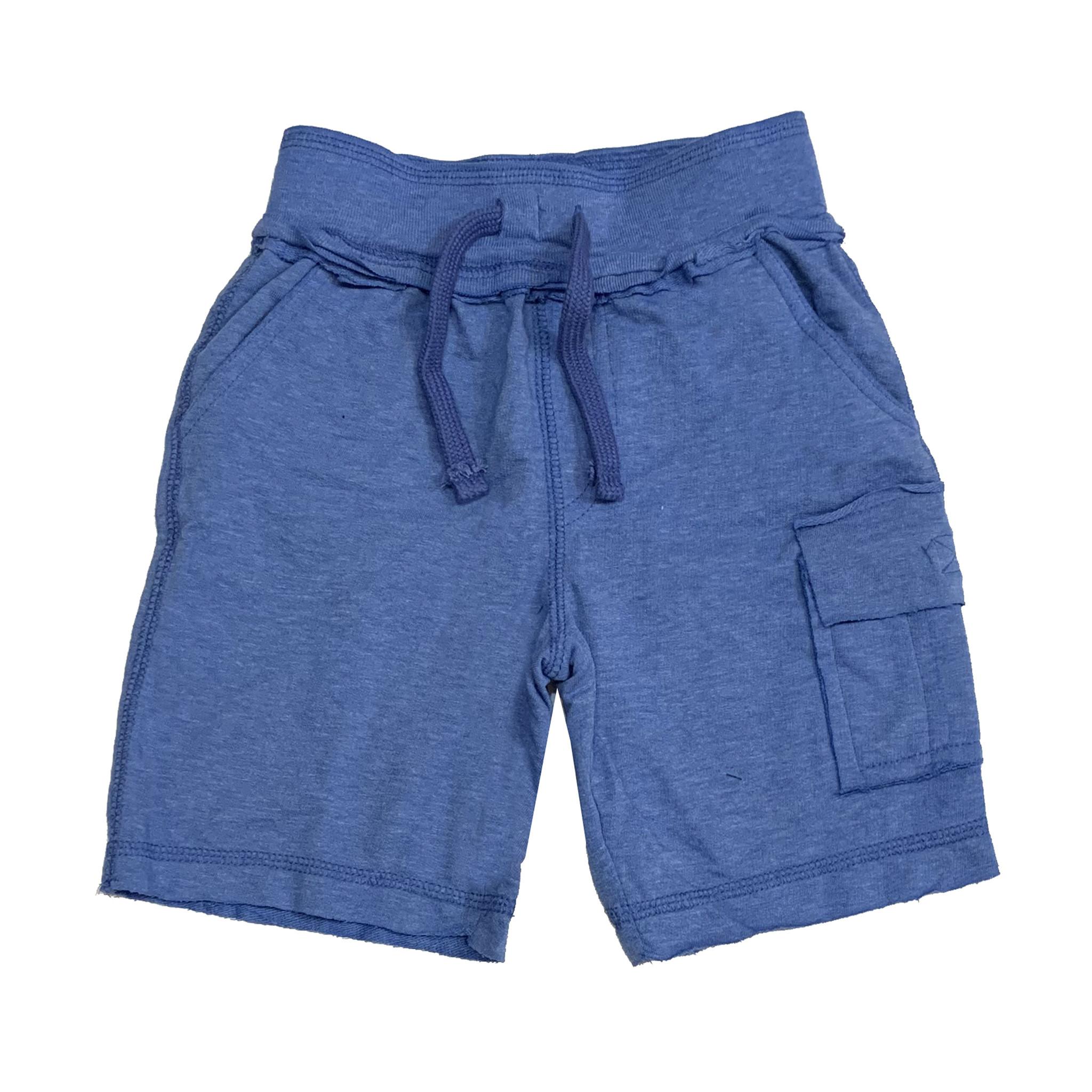 Mish Distressed Cobalt Infant Cargo Shorts