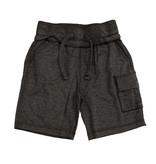 Mish Distressed Black Cargo Shorts