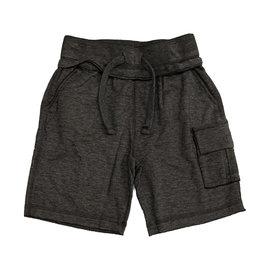 Mish Distressed Black Cargo Short