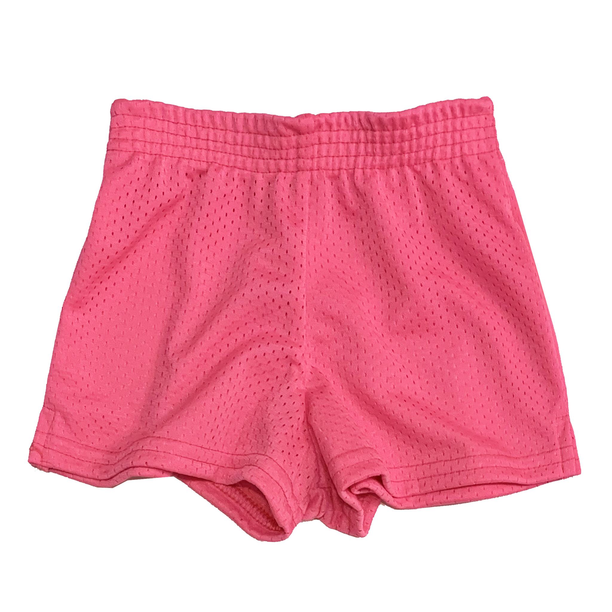 Dori Creations Neon Pink Mesh Shorts
