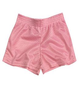 Dori Creations Light Pink Mesh Short