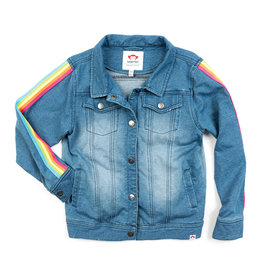 Appaman Rainbow Trim Denim Jacket