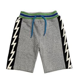Bit'z Kids Grey Bolt Trim Short