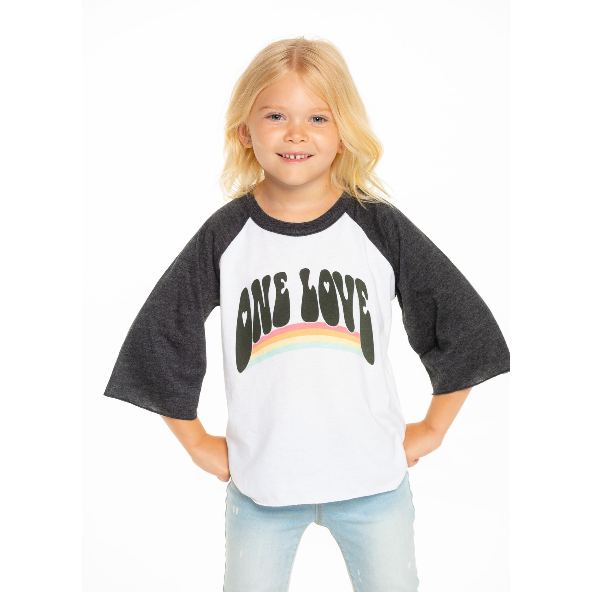 Chaser One Love Baseball Top