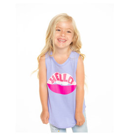Chaser Hello Lips Tank