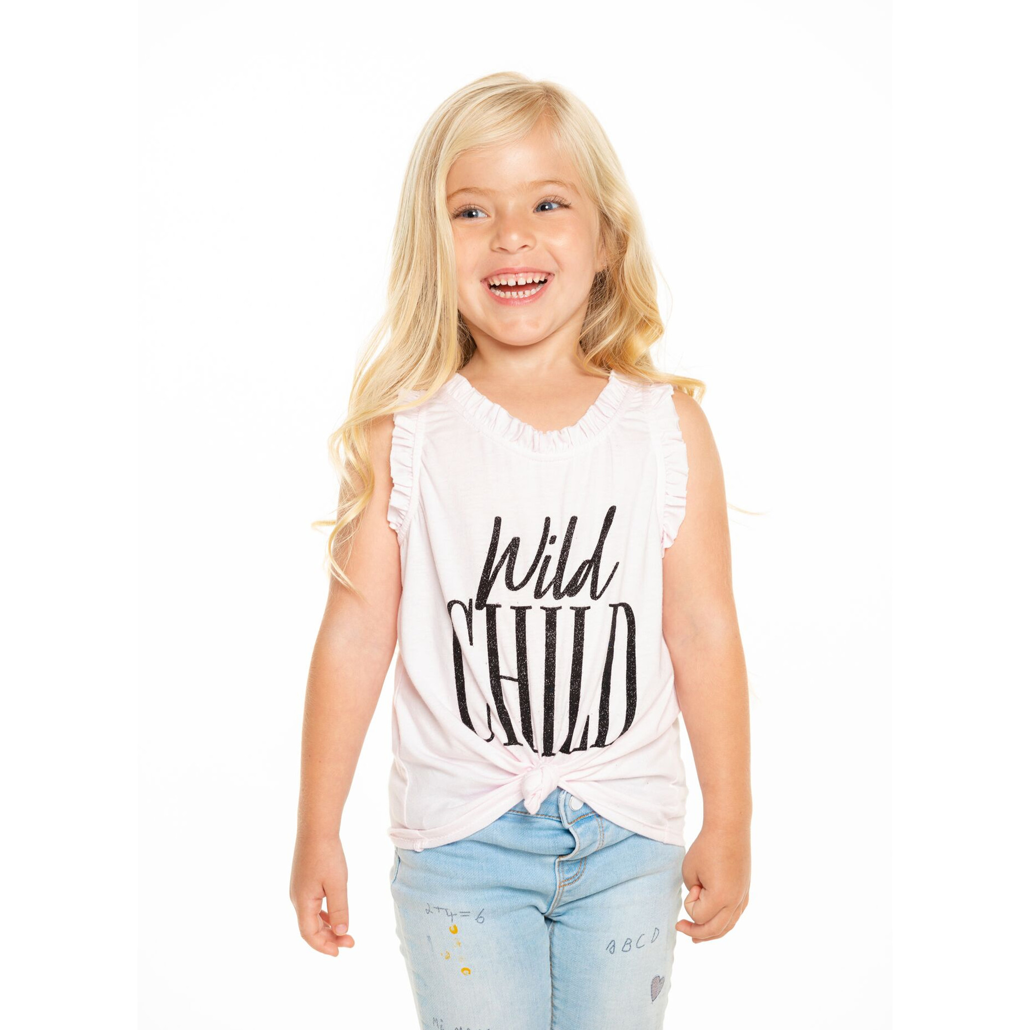 Chaser Wild Child Ruffle Tank