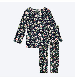 Posh Peanut Lina Floral Two Piece Loungewear Set