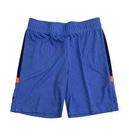 Under Armour Blue Shorts with Orange Accent