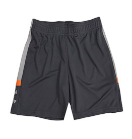 Under Armour Grey Shorts with Orange Accent