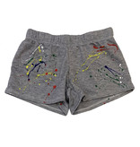 Firehouse Grey Primary Splatter Shorts