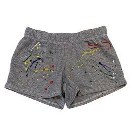 Firehouse Grey Primary Splatter Shorts