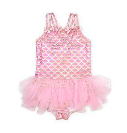 Kate Mack Mermaid Tutu Infant Swimsuit