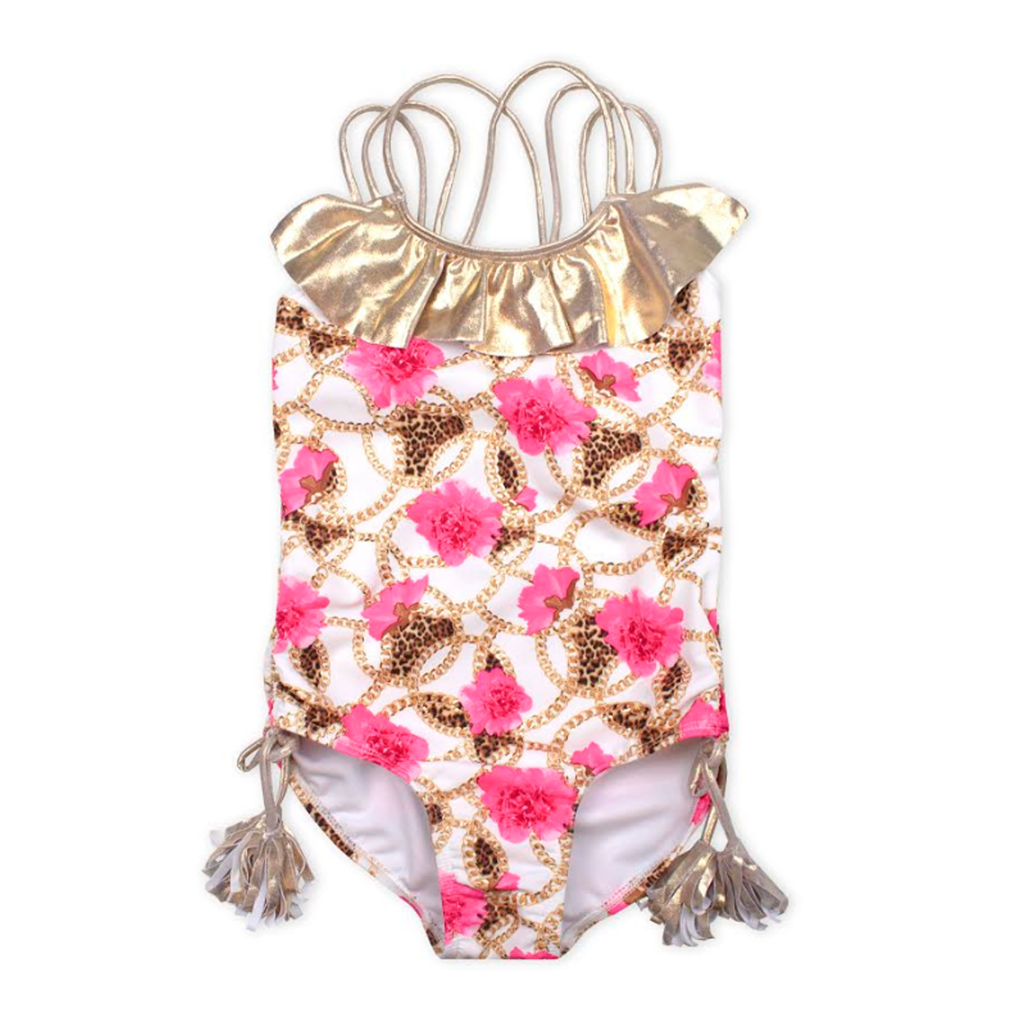 Kate Mack Floral Chain Swimsuit
