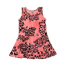 Sofi Pink Cheetah Toddler Dress