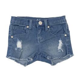 Pinc Light Bleach Ripped Denim Shorts