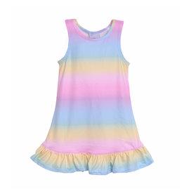 Flap Happy Pastel Tie Dye Dress
