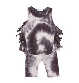Joah Love Tie Dye Fringe Short Set