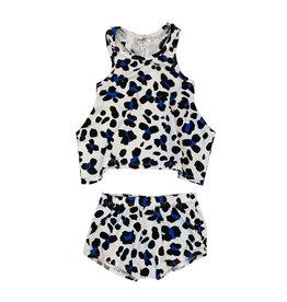 Joah Love Cheetah Print Diaper Set