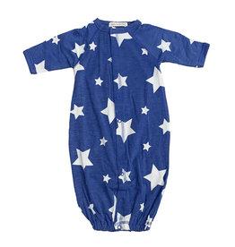 Little Mish Cobalt White Star Converter Gown
