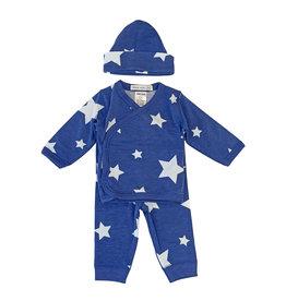 Little Mish Cobalt White Star Take Home Set