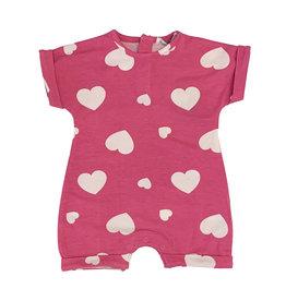 Little Mish Bubblegum Heart Shortall