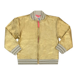 Egg Metallic Gold Toddler Jacket