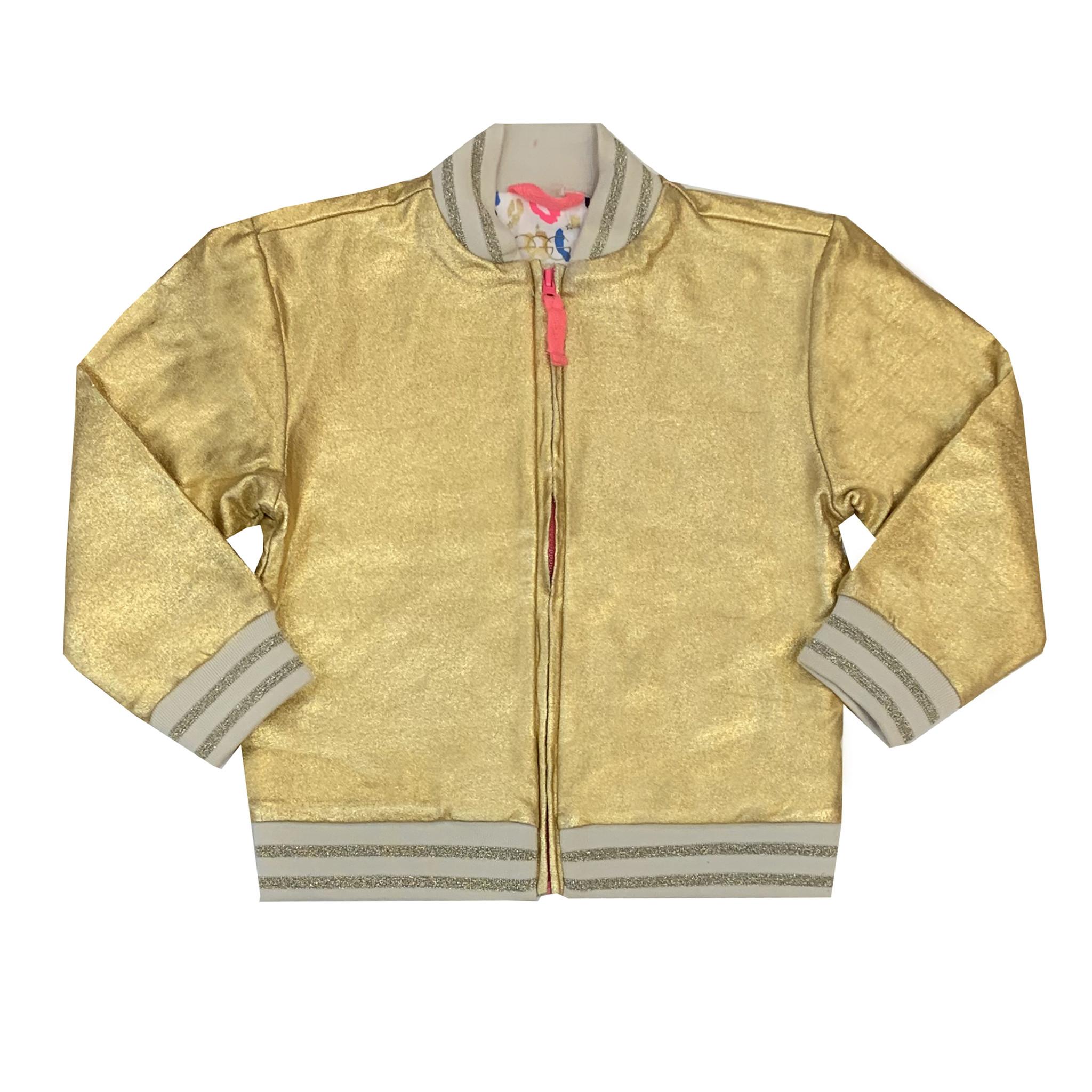 Egg Metallic Gold Toddler Jacket
